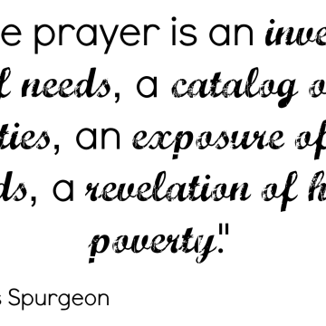 Daily Dose of Encouragement: Prayer
