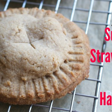 Paleo Autoimmune Protocol Strawberry Peach Hand Pies (Coconut Free)