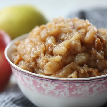 Food That Heals: Gingered-Apple Pear Sauce by Martine of Eat Heal Thrive (AIP/Paleo)