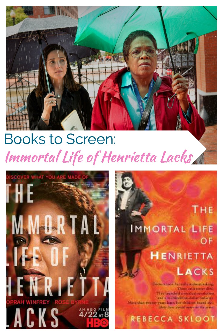 Book to Screen: immortal life of Henrietta Lacks. Book and HBO movie review