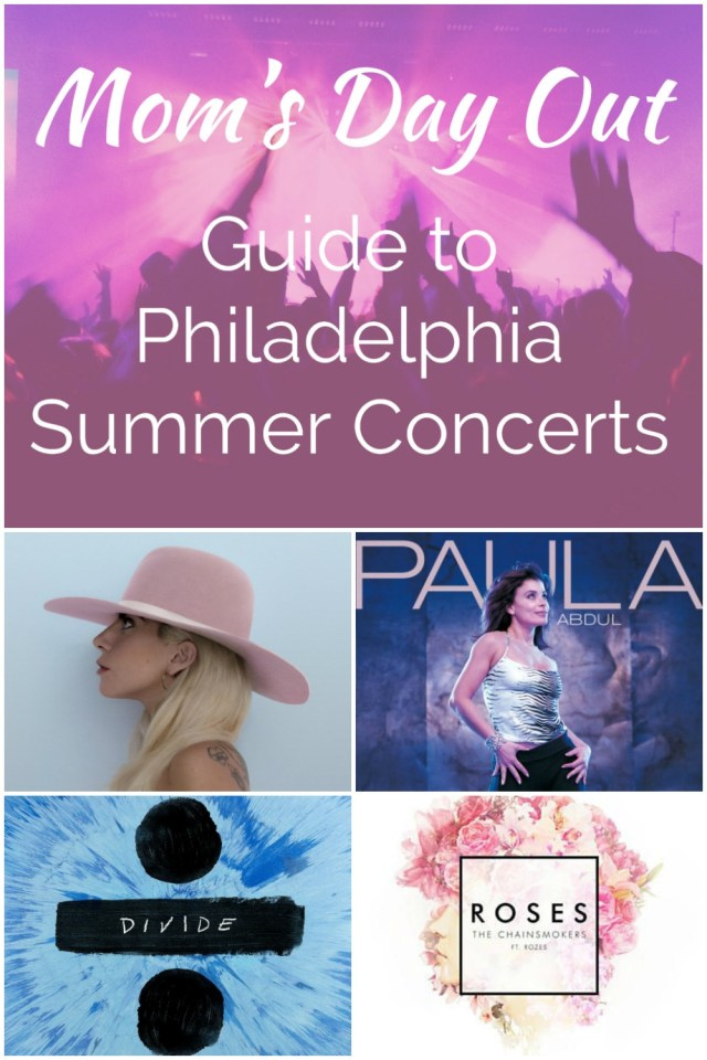 Mom's Day Out: Philadelphia Summer Concerts