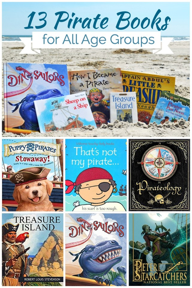 Ahoy! We have your first mate covered with these Pirate Books for All Ages!