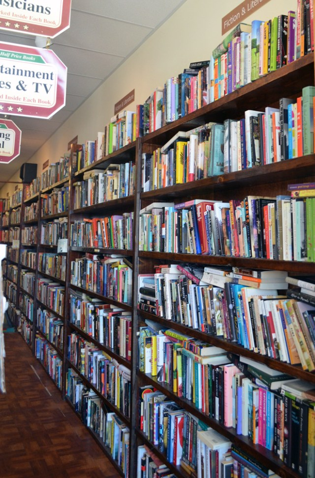 Local Literary Watering Hole: Cathy's Half Priced Books Havertown, PA