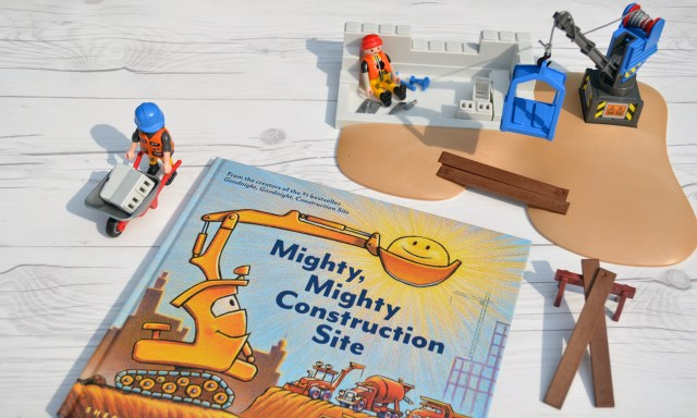 Playmobil and Mighty, Mighty, Construction Site go hand and hand!