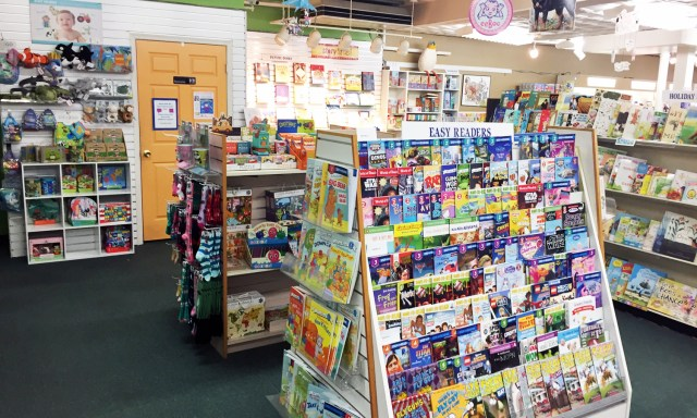 The kids section at this store is huge - its actually in multiple rooms!