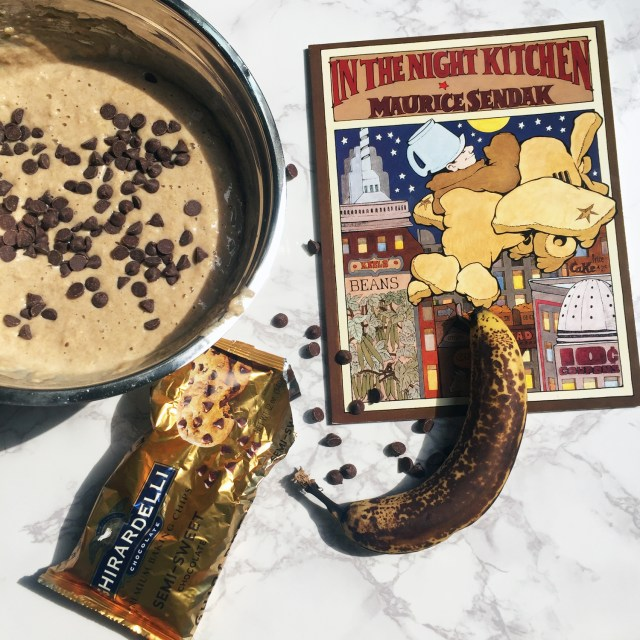 In the Night Kitchen by Maurice Sendak is a fan favorite in our house! Crazy to think that this is one of the top banned books in the country!