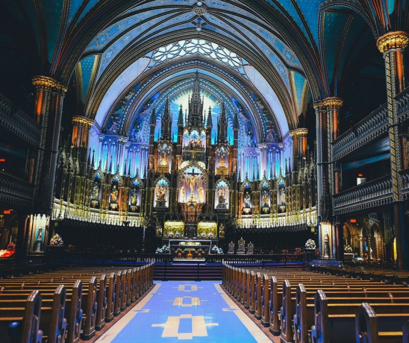 The Basicilia in Montreal. A must see destination.
