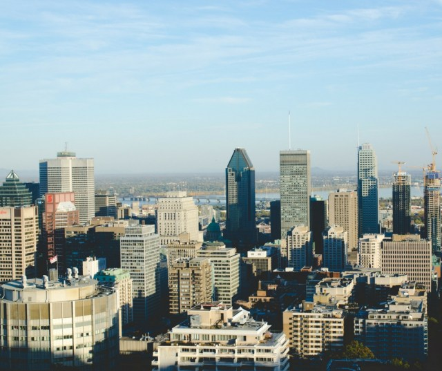The view from Mont-Royal a must see for 2 days in Montreal.