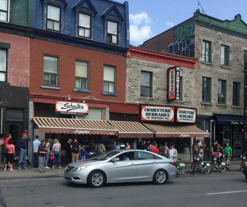Schwartz's deli - home of the best smoked meats!