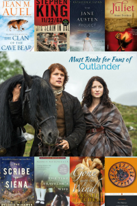 Pin now and Read later! From classic love stories to story about time travel, there is something here for every Outlander Fan. And there are enough books to keep you satiated for when the next droughtlander begins!