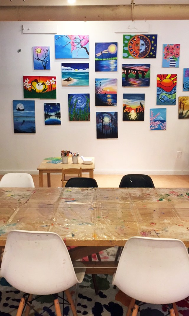 Paint nights for adults and kids, camps, after school programs and more are offered at Splashlab Arts in East Falls.