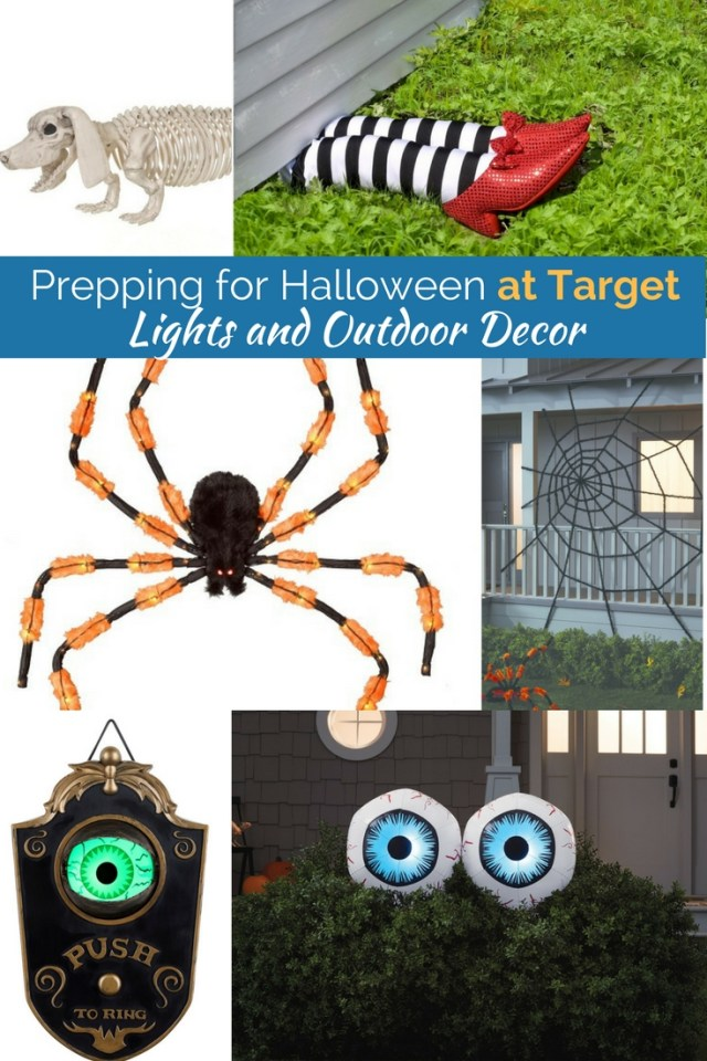 I'm so in love with these outdoor decor items perfect for halloween.  This giant spiderweb, animated doorbell and even funny skeletons! But clearly, these wicked witch legs are the best of the bunch!