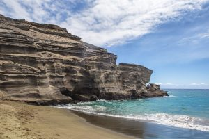 green sand beach hawaii photography