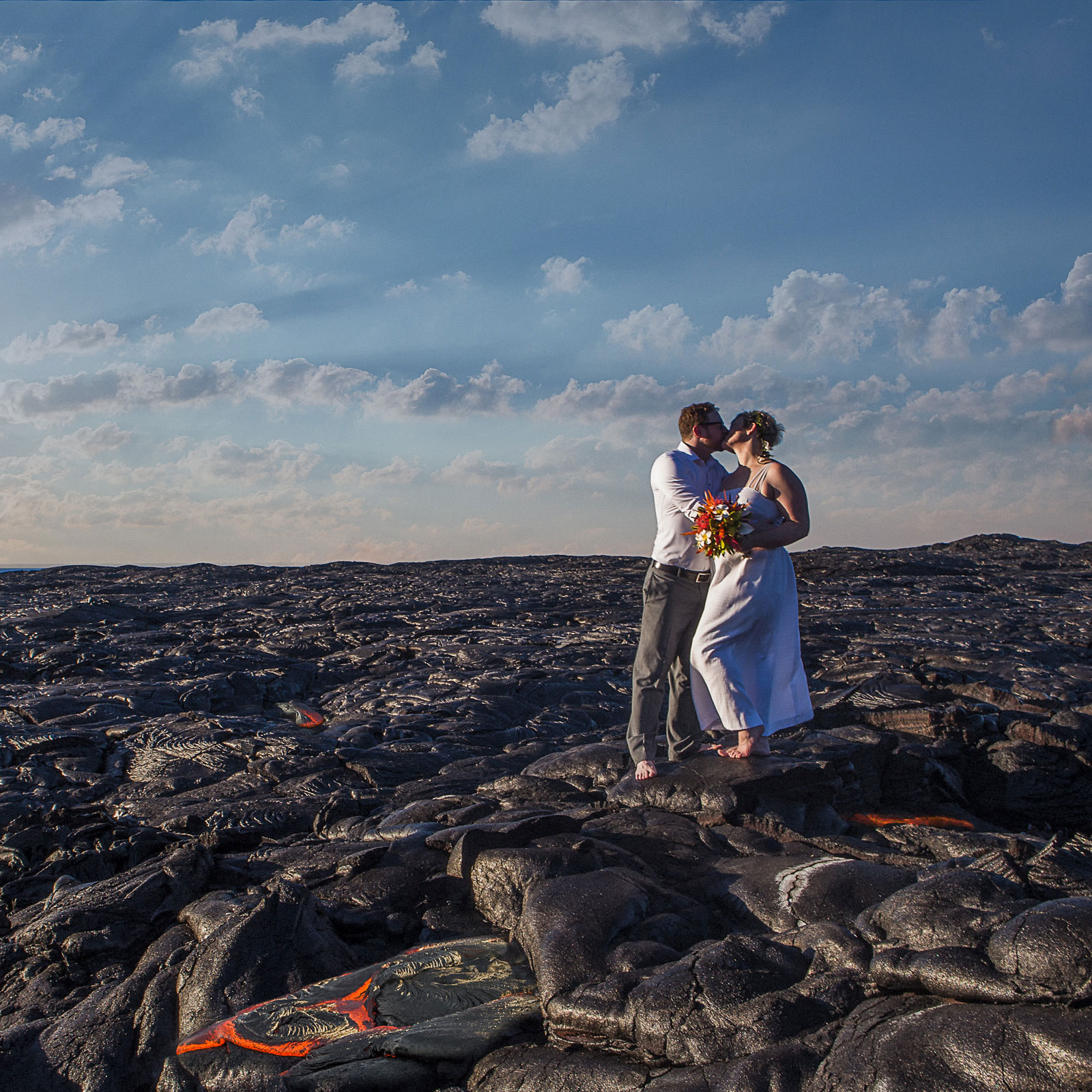 lava field wedding big island photographer