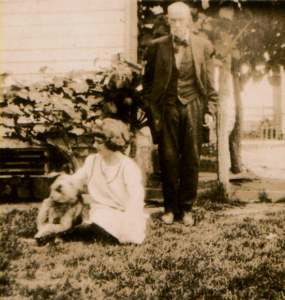 Dr. George Washington Richards with Lucille Richards Harrison