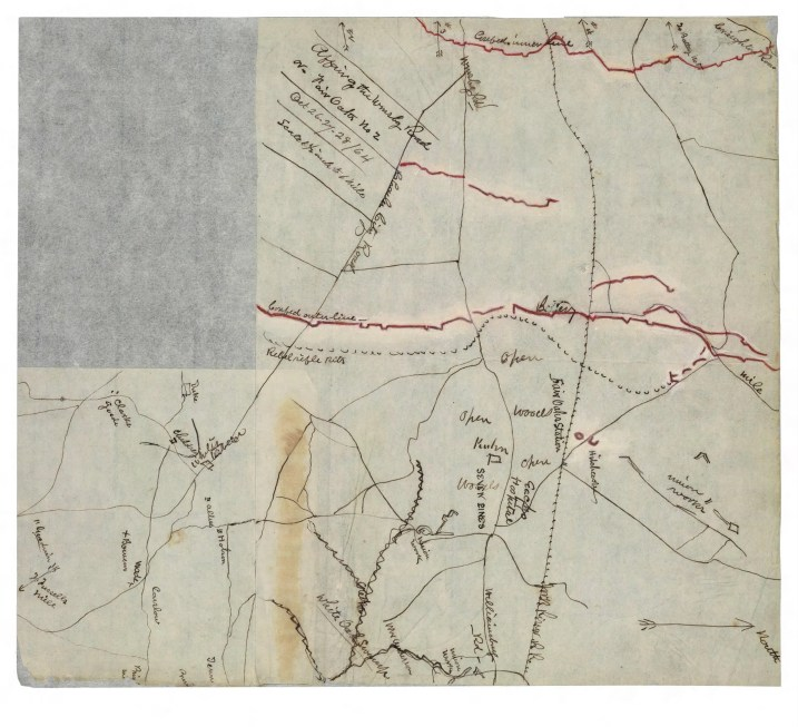 Affair of the Williamssburgg Road or Fair Oaks No. 2, Oct. 26-27-28, 1864