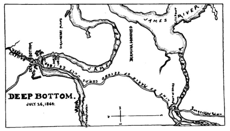 Deep Bottom. July 26, 1864