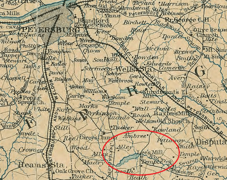 SkirmishAtLeesMillJuly301864Map2