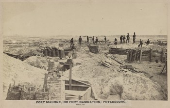 Fort Mahone, April 1865