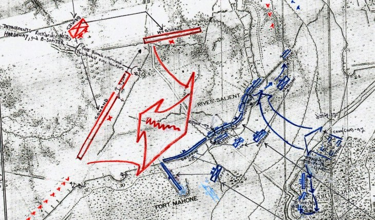 Bearss Petersburg Map IX Corps Apr 2 Layer 3 Zoomed In w 1280