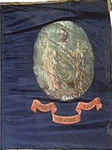 The Regimental flag of the 39th New Jersey.
