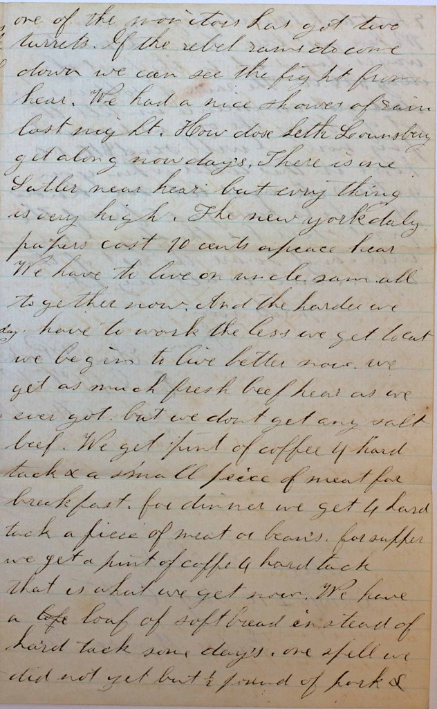 18640606 Elias Peck 10th CT Letter Page 3