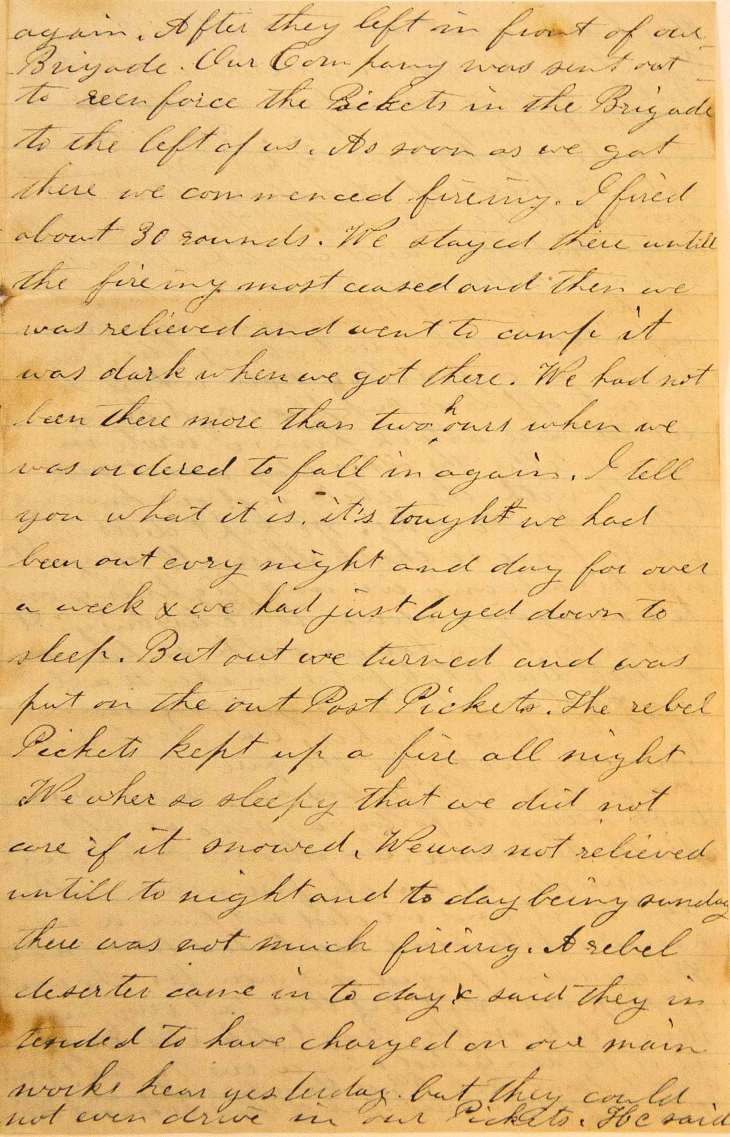 18640619 Elias Peck 10th CT Letter Page 3