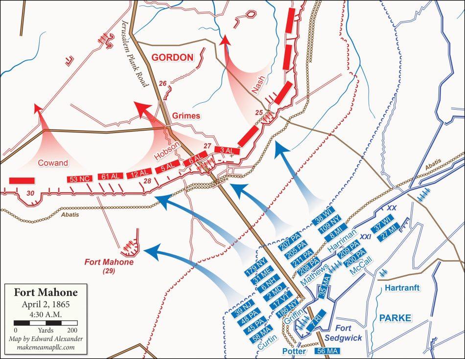 1865-04-02 Fort Mahone, Phase 2