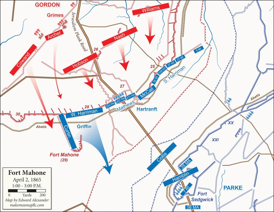 1865-04-02 Fort Mahone, Phase 5