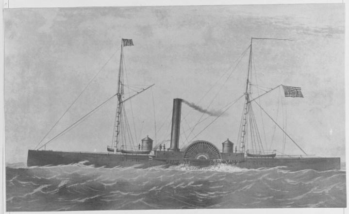 NH 61876 USS Eutaw (1863-1867)