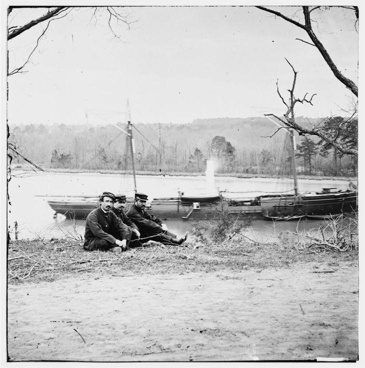 02188v: Unknown location. U.S. gunboat Kansas