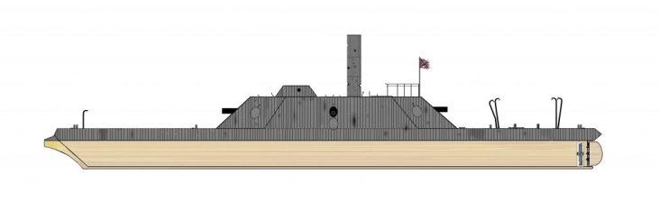 CSS Virginia II Battle Damage - Michael J. Buonantuono