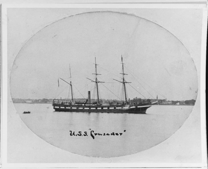 NH 66399: USS Crusader (1858-1865)
