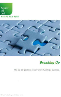 Breaking Up | Beyond the Deal
