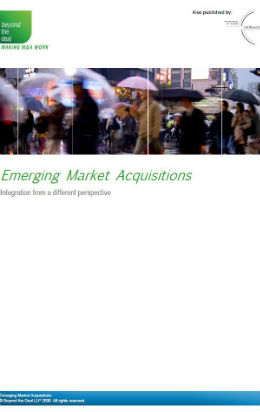 Emerging Market Acquisitions | Beyond the Deal