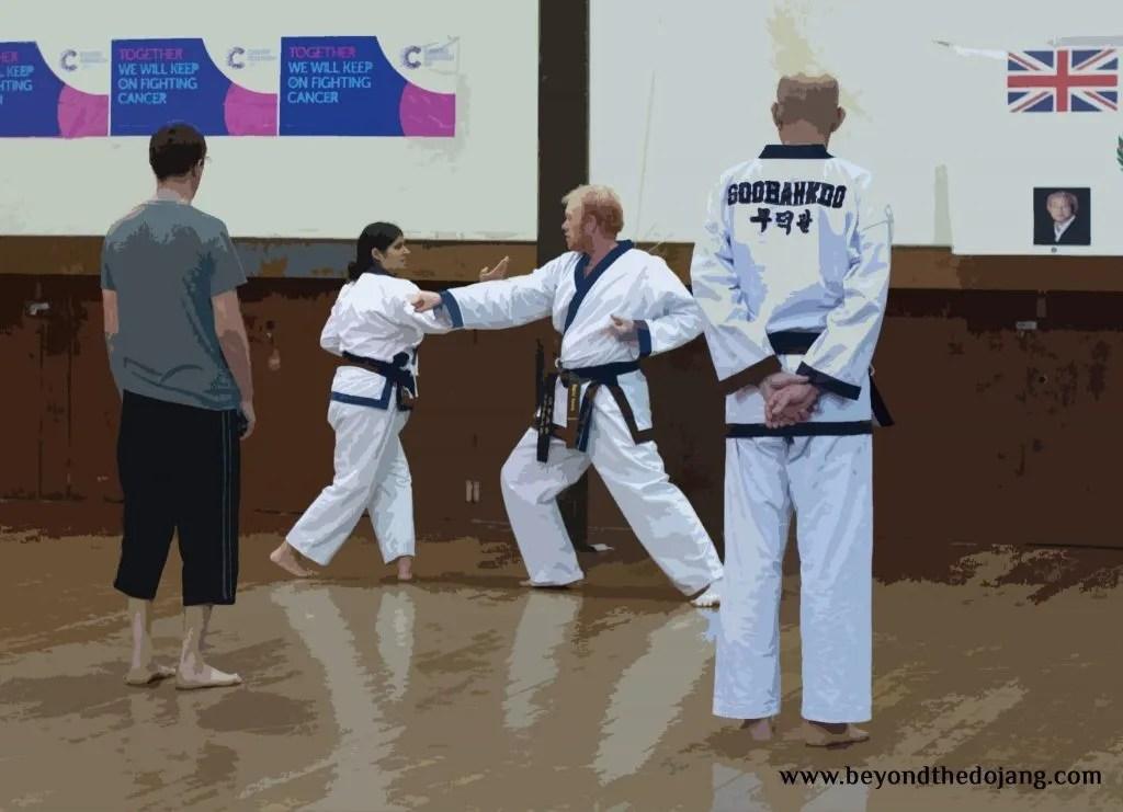 How I made my martial arts instructing unique