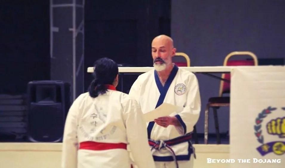 Developing gratitude through martial arts