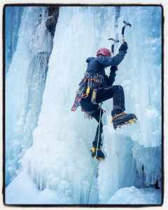 Steep Ice Climbing in Cogne