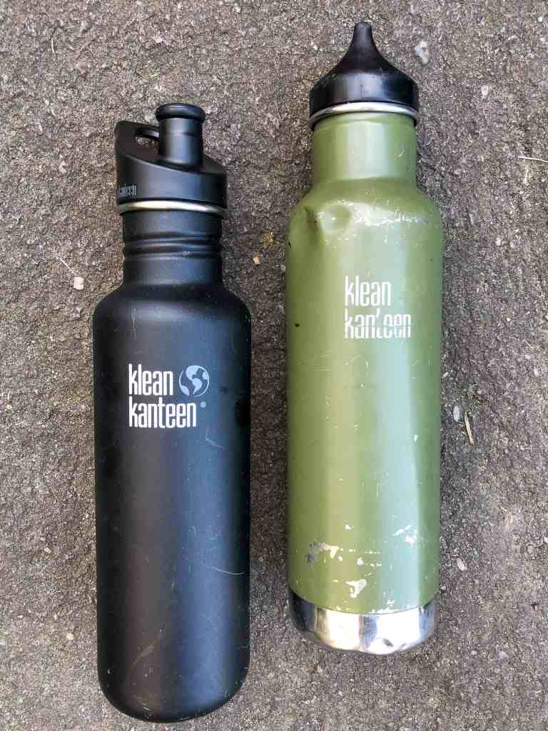 My 64oz Classic and Hati's well used insulated Classic