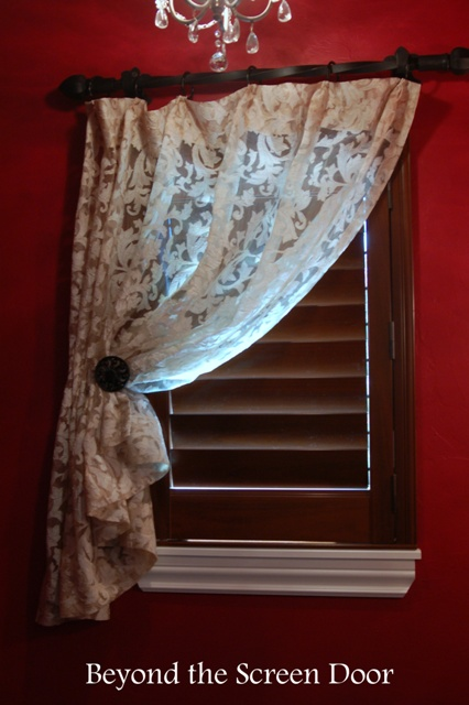 Gallery Cafe Curtains Amp Sill Length Panels Beyond The Screen Door