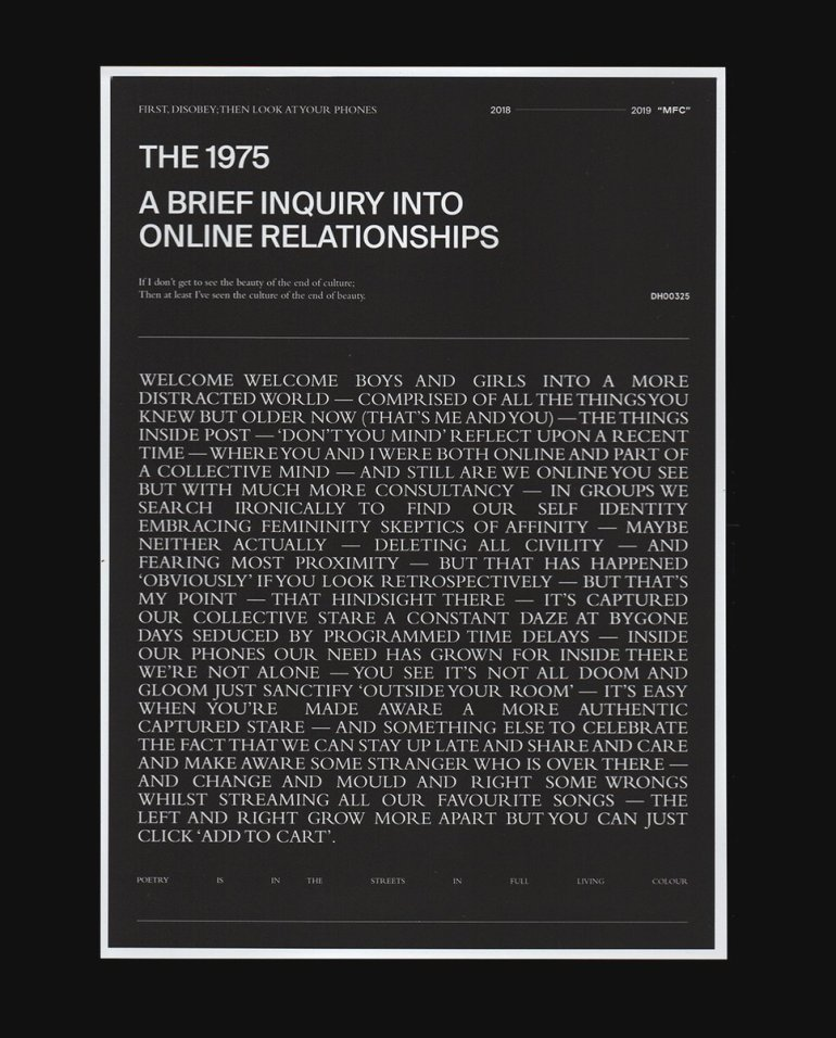 The 1975 Potentially Share A Release Date For A Brief Inquiry Into