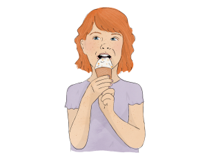 Speech Language Therapy Resource Image, Child Eating