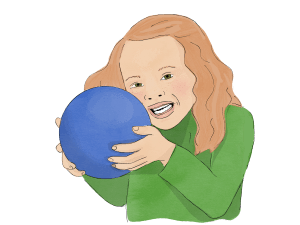 Speech Language Therapy Resource Image, Child With Down Syndrome