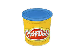 Speech Language Therapy Resource Image, Play-doh
