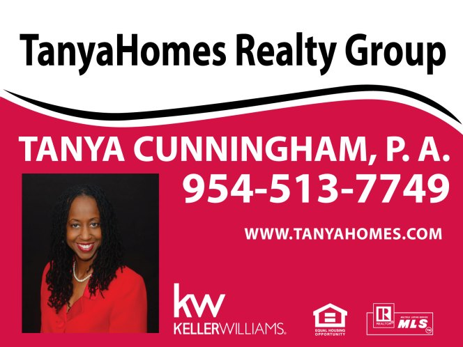 Tanya Cunningham is a caring, conscientious realtor who will find the right home for you.