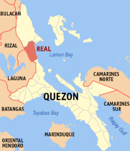 Real is a place in the Philippines! Source: © Mike Gonzalez, 2005. Find him at http://en.wikipedia.org/wiki/User:TheCoffee