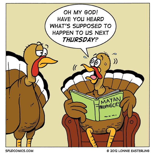 Worried Turkeys