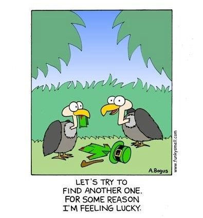 St. Patrick's Day Vultures