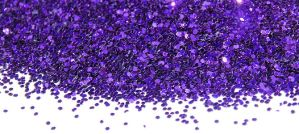 Purple Glitter - Photo by Michelle Grewe