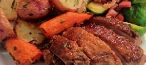 Roast Goose Dinner - Photo by Glen MacLarty